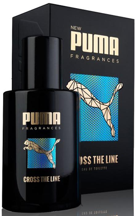 Puma Туалетная вода мужская Cross The Line, 50 мл