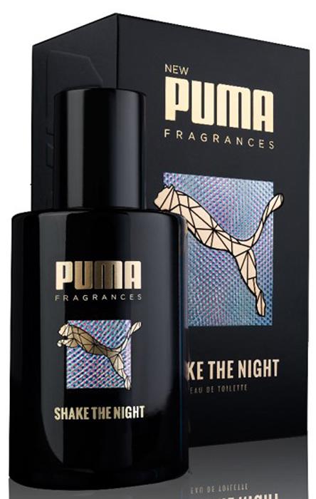 Puma Туалетная вода мужская Shake The Night, 50 мл