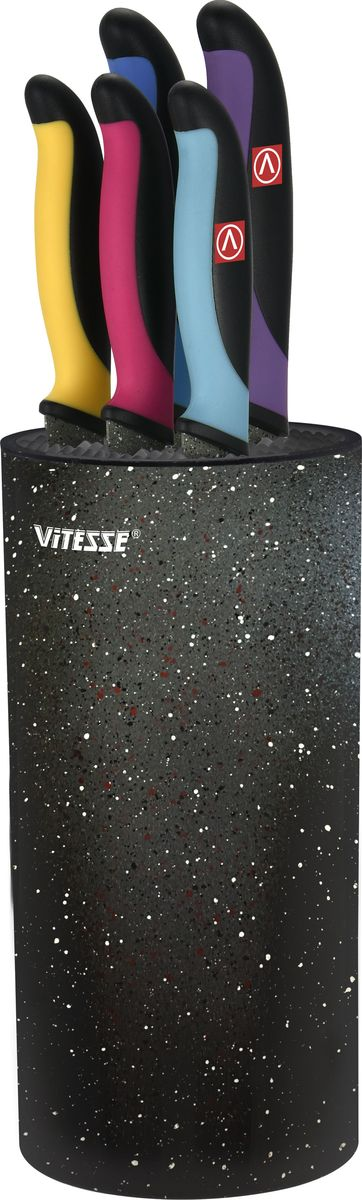Набор ножей Vitesse, 6 предметов. VS-8134 набор ножей 6 предметов vitesse vs 9205