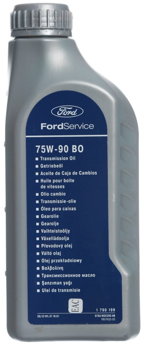 """Масло трансмиссионное Ford """"WSD-M2C200-C"""", 1 л"""