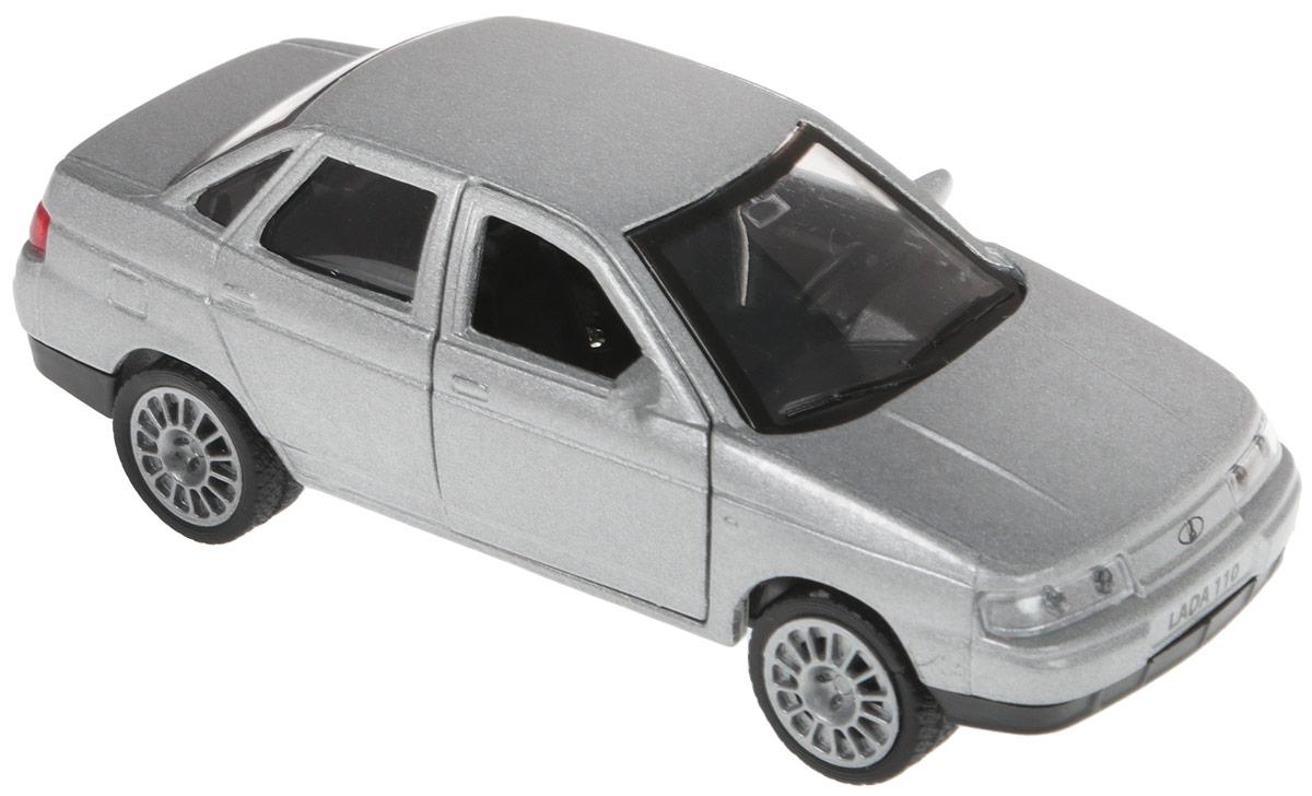 Технопарк Машинка инерционная Lada 110 цвет серебристый технопарк машинка инерционная зил 130 аварийная служба