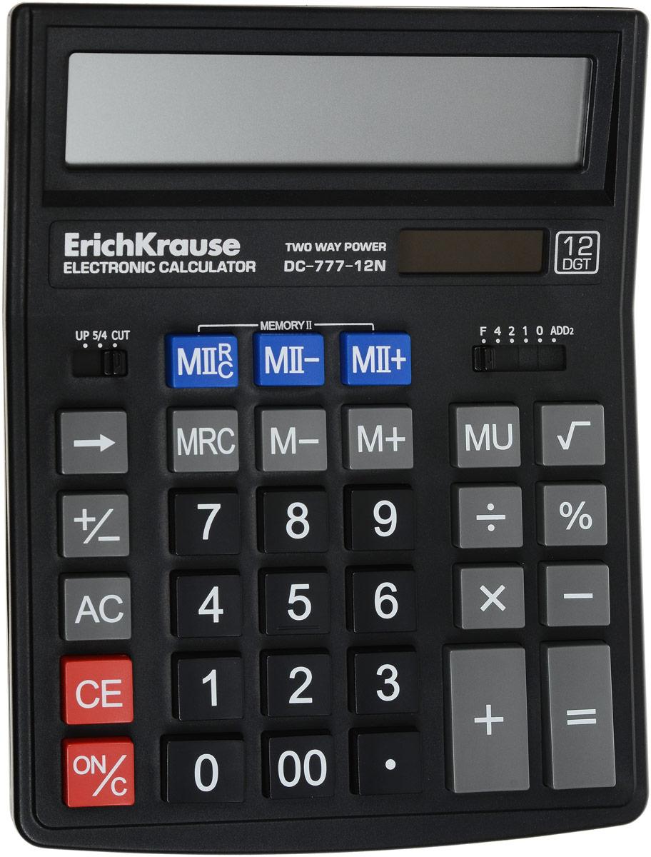 Erich Krause Настольный калькулятор DC-777-12N