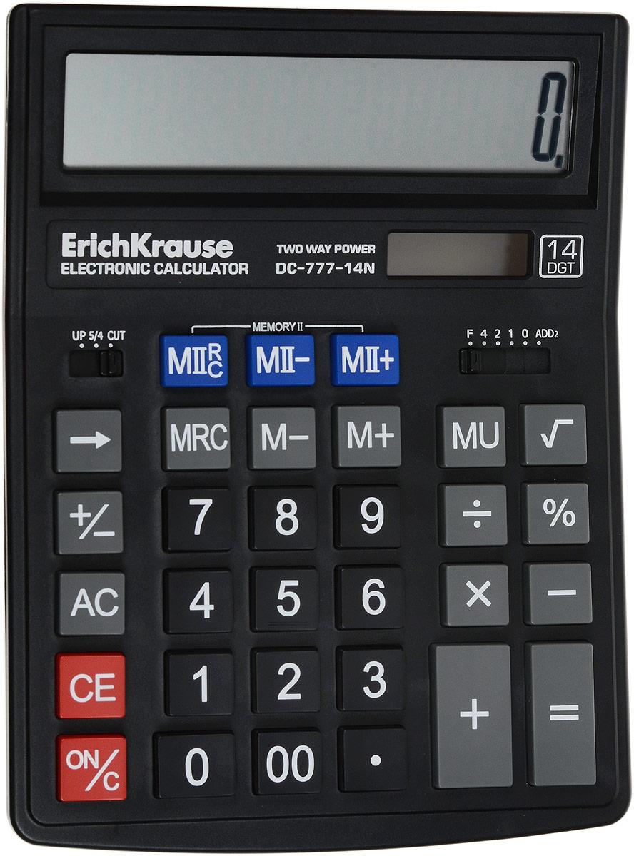 Erich Krause Настольный калькулятор DC-777-14N 37774