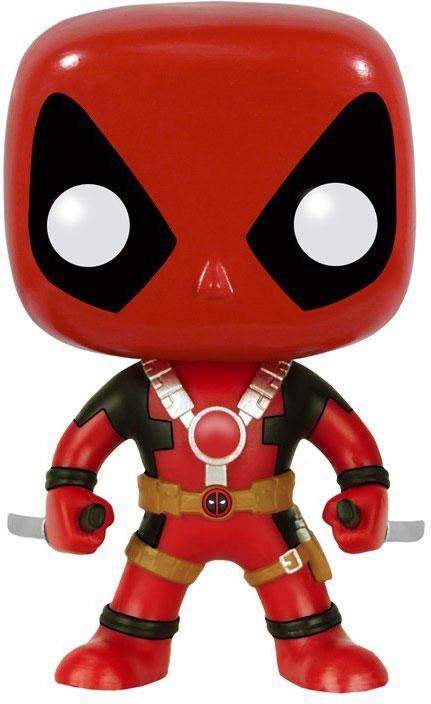 Funko POP! Bobble Фигурка Marvel: Deadpool Two Swords 7486 фигурка funko pop bobble marvel black panther nakia