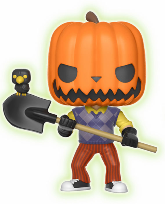 Funko POP! Vinyl Фигурка Games Hello Neighbor Pumpkin Head GITD (Exc) 25902 фигурка funko pop games sonic the hedgehog – shadow 9 5 см