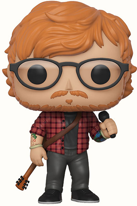 Funko POP! Vinyl Фигурка Rocks Ed Sheeran 29529 фигурка funko pop animation naruto shippuden – sakura 9 5 см
