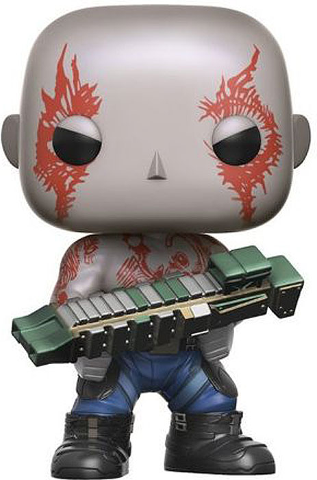 Funko POP! Bobble Фигурка Marvel Guardians O/T Galaxy 2 Drax 13283 цена