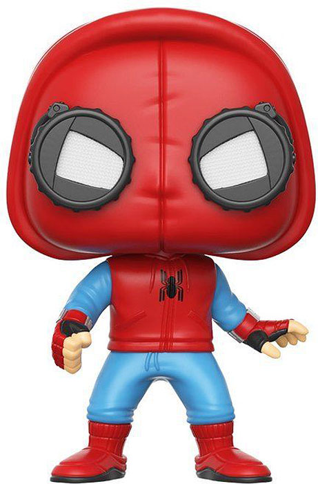 Funko POP! Bobble Фигурка Marvel Spider-Man Homecoming Spider-Man (Homemade Suit) 13315 1toy самокат spider man