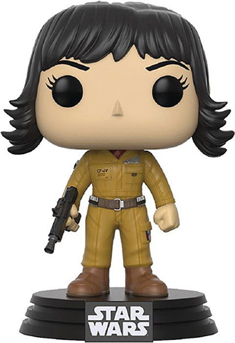 Funko POP! Bobble Фигурка Star Wars E8 TLJ Rose (POP 13) 14754 фигурка funko pop star wars rogue one – young jyn erso bobble head 9 5 см
