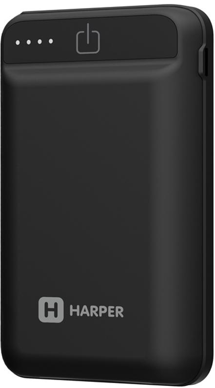 Harper PB-2612, Black внешний аккумулятор (12000 мАч)