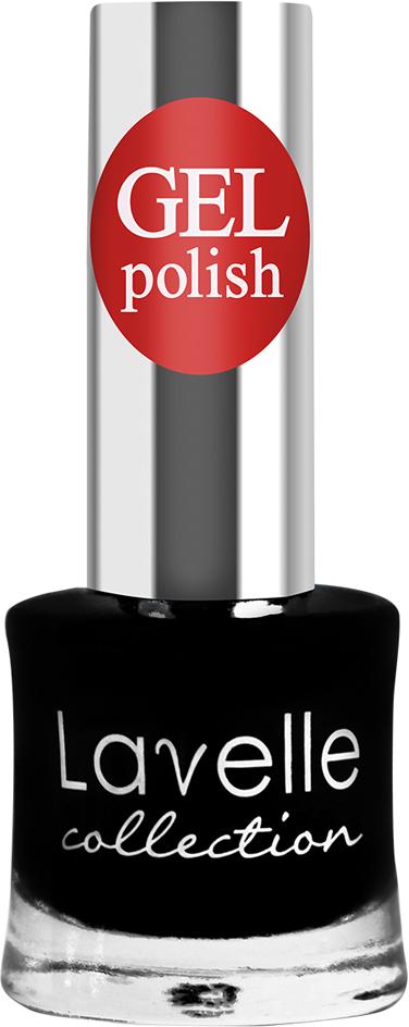 Lavelle Collection лак для ногтей GEL POLISH тон 40 черный, 10 мл цена