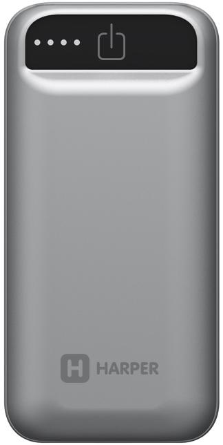 Harper PB-2605, Grey внешний аккумулятор (5000 мАч)