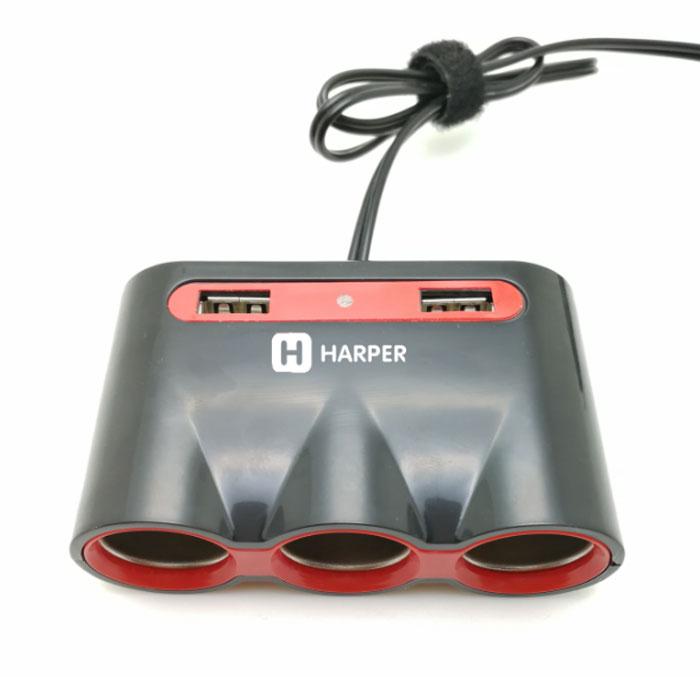 Harper DP-330, Black автомобильное зарядное устройство цены