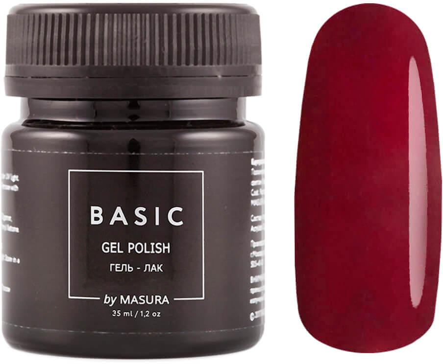 Masura Гель-лак Basic Марсала. Возвращение., 35 мл masura гель лак basic 294 218м ягодный блеск для губ