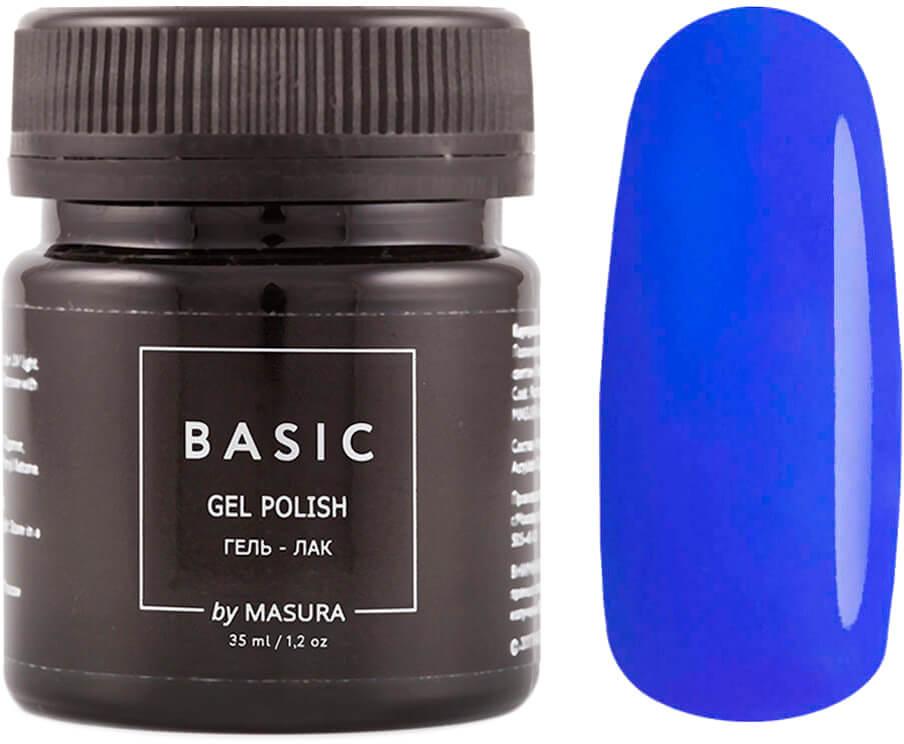 Masura Гель-лак Basic Лазурит, 35 мл masura гель лак basic 294 218м ягодный блеск для губ