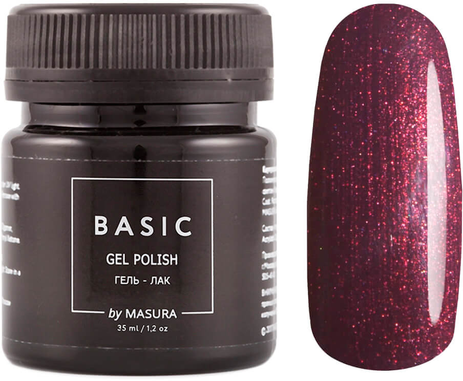 Masura Гель-лак Basic Соус Чили, 35 мл masura гель лак basic 294 218м ягодный блеск для губ
