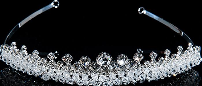 Диадема Selena, цвет: белый. 70060469 браслеты selena браслет
