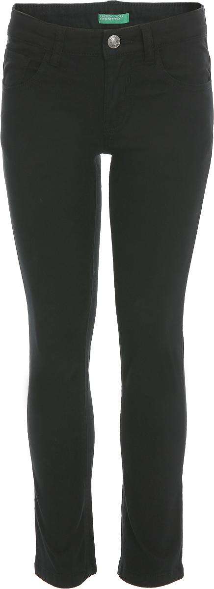Брюки для мальчика United Colors of Benetton, цвет: черный. 4DMD57GI0_100. Размер 150