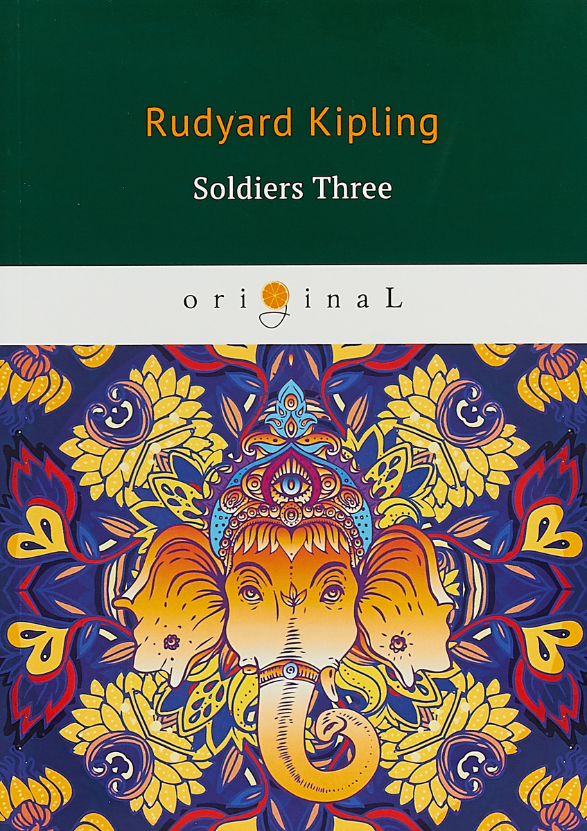 Rudyard Kipling Soldiers Three lake hills collection hssy156