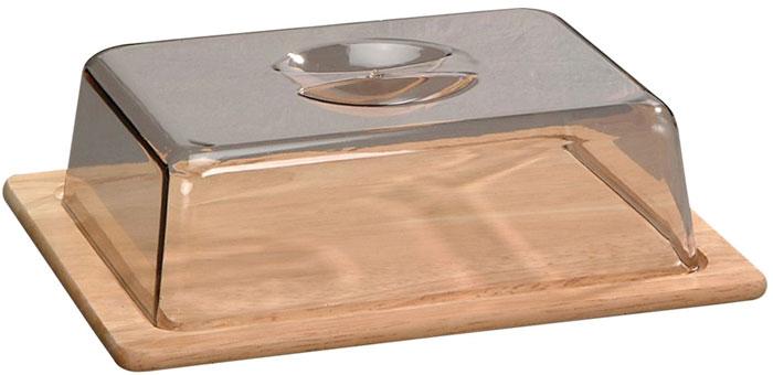 """Колпак """"Kesper"""" предназначен для хранения хлеба и сыра. Он поможет продуктам дольше оставаться свежими и не заветриться. Основание  колпака выполнено из дерева, верх - из нетоксичного пластика."""