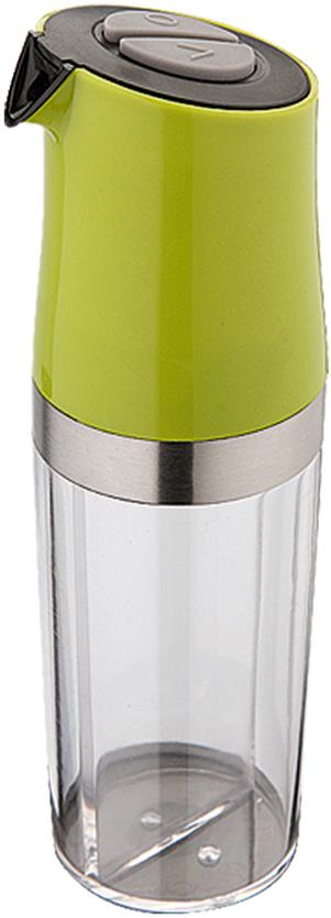 Емкость для масла и уксуса Dekok с дозатором, цвет: прозрачный, фисташковый dekok w15032731076