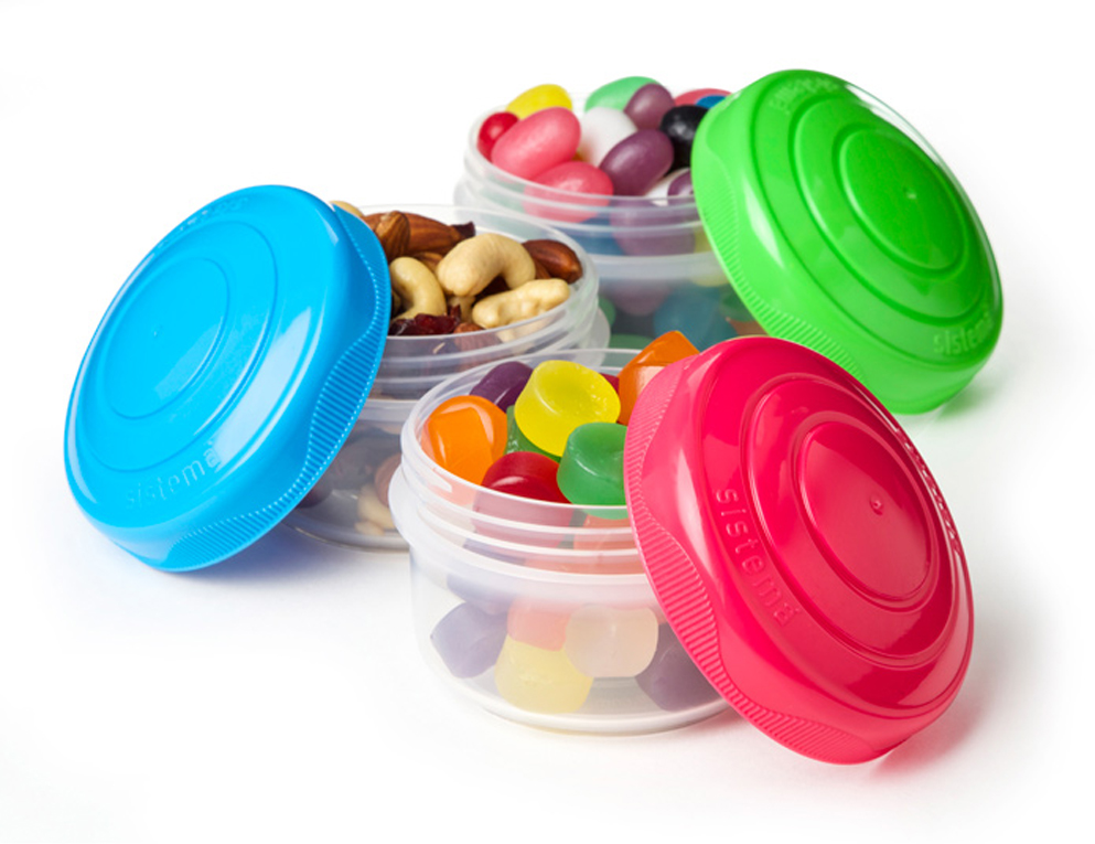 """Контейнеры Sistema """"To Go"""" созданы для людей ведущих активный образ жизни. Контейнеры позволят удобно хранить орехи, конфеты и другое мелкие продукты. Можно мыть в посудомоечной машине."""