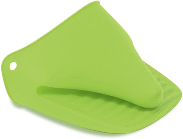 """Набор Tatkraft """"Glove"""" состоит из 2 прихваток, выполненных из силикона зеленого цвета. Силиконовые прихватки выдерживают высокие и низкие температуры (от -40°С до +230°С). Они эластичны, износостойки, влагонепроницаемы, легко моются, не горят и не тлеют, не впитывают запахи, не оставляют пятен. Силикон абсолютно безвреден для здоровья. Прихватками Tatkraft """"Glove"""" можно брать не только горячие, но и замороженные предметы, а также влажные и скользкие. Прихватки отлично защищают пальцы рук, практичны в использовании и необходимы в каждом доме."""