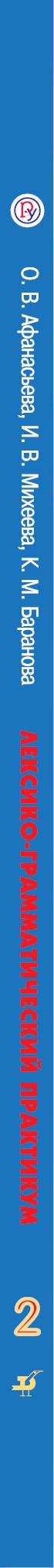 Английский язык. 2 класс. Лексико-грамматический практикум. О. В. Афанасьева, И. В. Михеева, К. М. Баранова