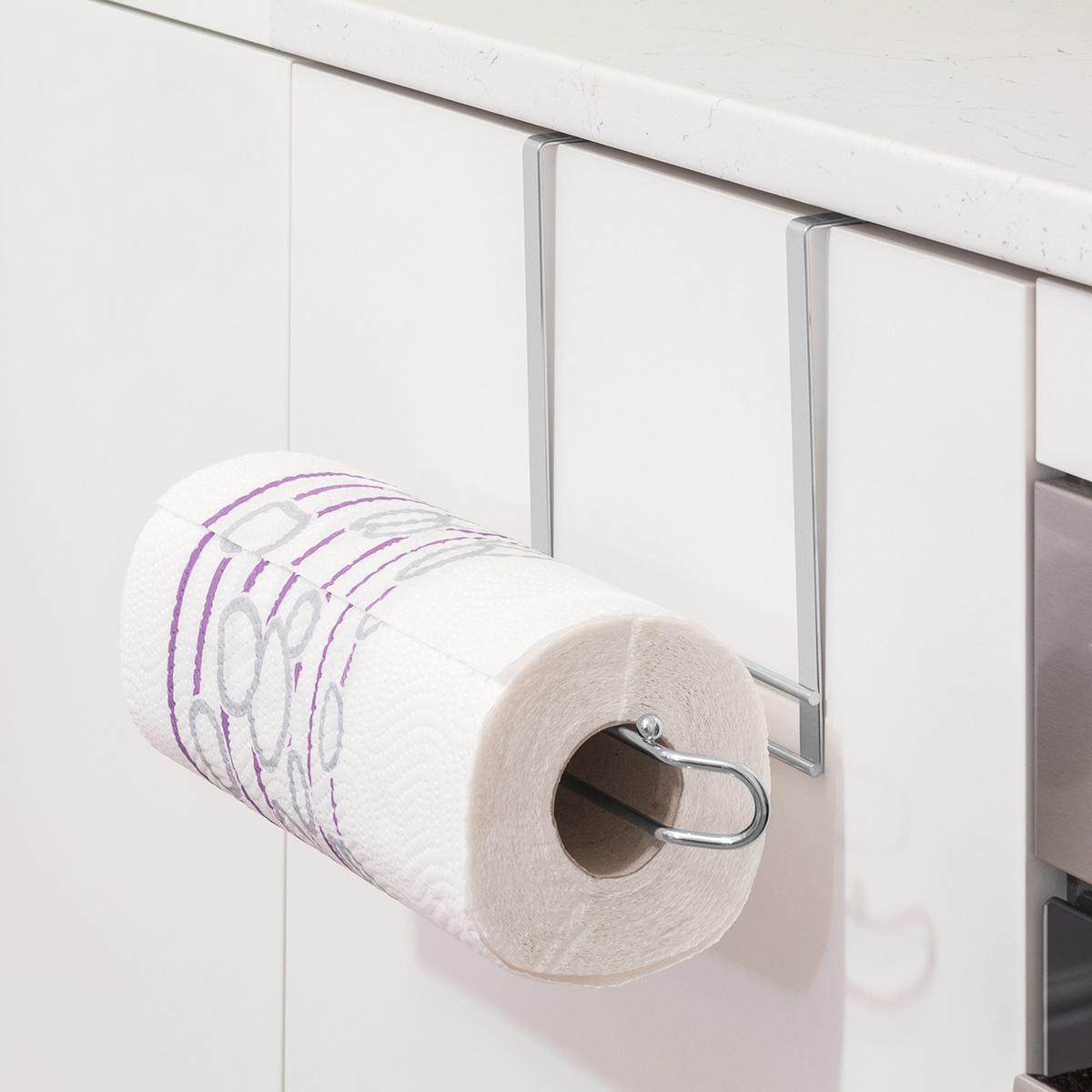 Tatkraft GLORY Надверный держатель бумажных полотенец, L27?H18?D10 сm, Материал: хромированная сталь