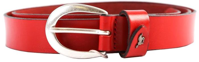 Ремень женский Mustang, цвет: красный. MW3001L01-0350. Размер 100