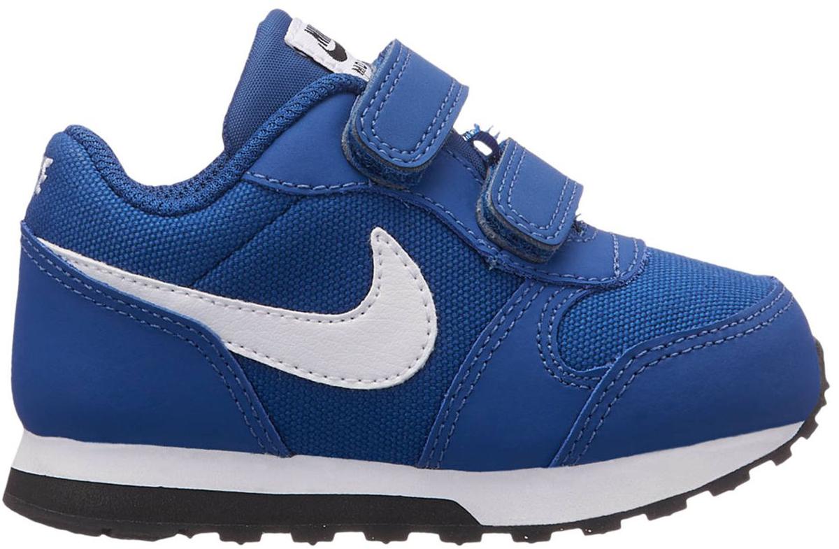 Кроссовки для мальчика Nike MD Runner 2 (TD), цвет: синий. 806255-411. Размер 9C (25) кроссовки nike md runner 2 749794 410