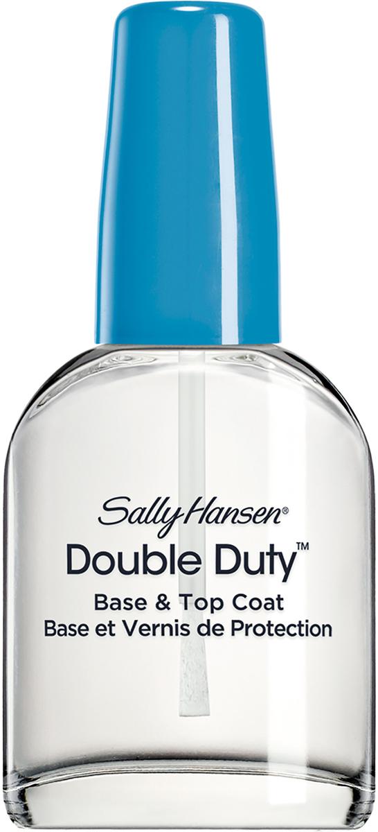 цена на Sally Hansen Nailcare Double duty base укрепляющее средство 2в1: база и верхнее покрытие, 13 мл