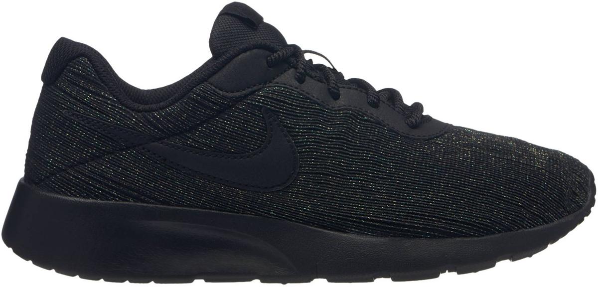 Кроссовки для девочки Nike Tanjun SE (GS), цвет: черный. 859617-004. Размер 7Y (39) кроссовки nike team hustle d 8 gs basketball shoe boys 881941 301