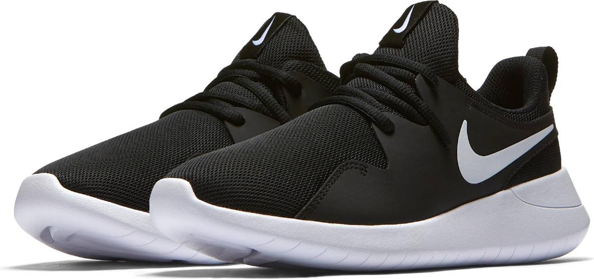 Кроссовки для мальчика Nike Tessen (GS) Running, цвет: черный. AH5232-003. Размер 7Y (39) кроссовки nike team hustle d 8 gs basketball shoe boys 881941 301