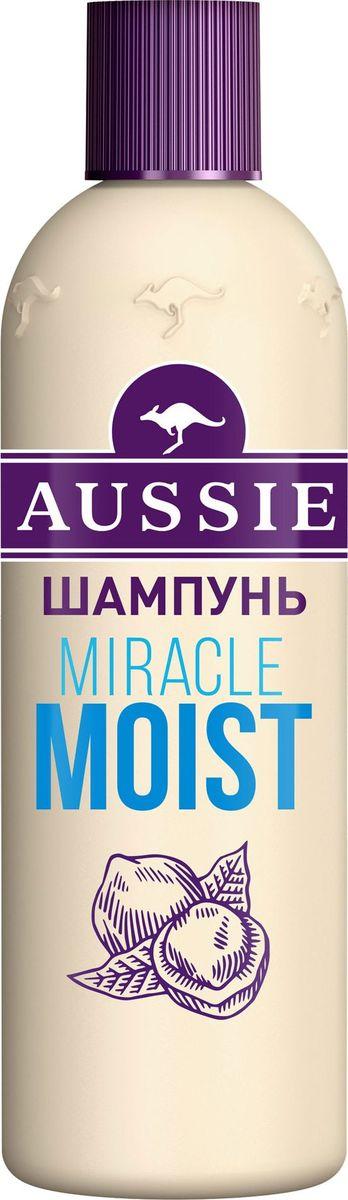 """Aussie Шампунь """"Miracle Moist"""", для сухих и поврежденных волос, 300 мл"""