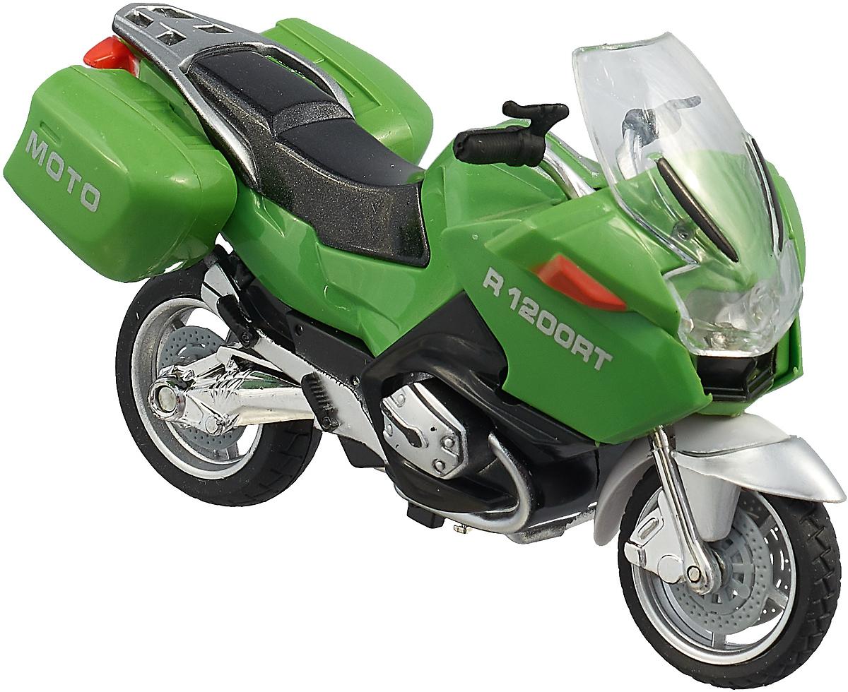 ТехноПарк Мотоцикл Туризм цвет зеленый