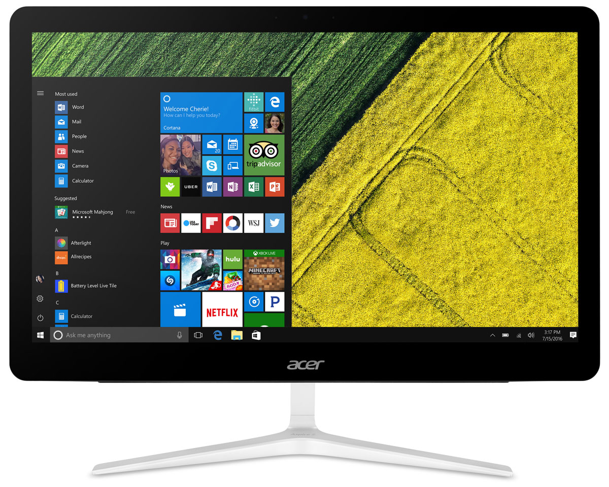 Acer Aspire Z24-880, Silver моноблок (DQ.B8TER.014)