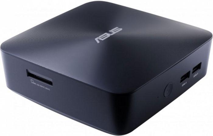 Asus VivoMini UN65U-M002M Slim, Dark blue неттоп