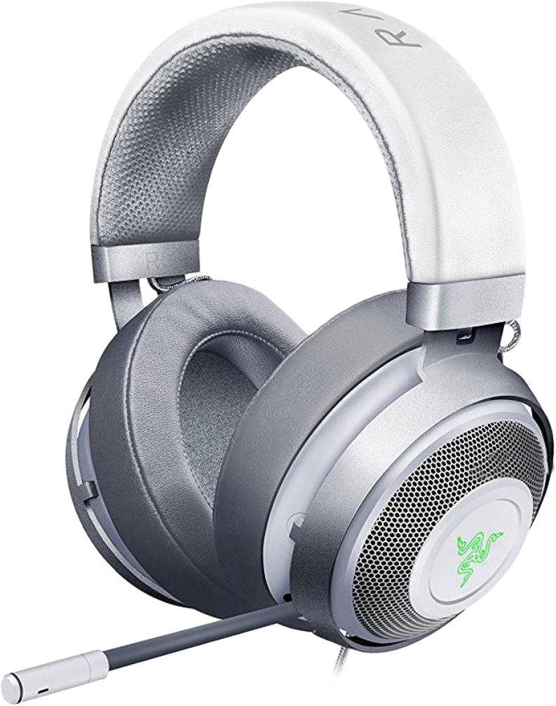 Razer Kraken 7.1 V2 Oval Mercury Edition, White игровая гарнитура RZ04-02060300-R3M1