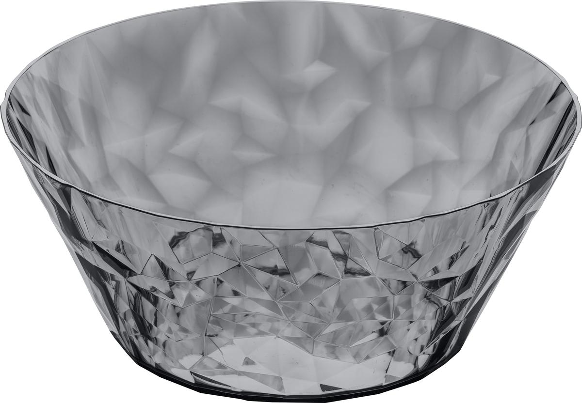 Эта салатница обеспечит блестящую и сочную сервировку любому салату или закуске. Коллекцию полимерной посуды CLUB высоко оценят любители шумных вечеринок, семейных застолий и встреч с друзьями: такая сверхлёгкая и ударопрочная посуда специально создана для удобной эксплуатации, а прозрачный кристальный дизайн - для бесконечного веселья.Особенности:- объем 3,5 л- весит мало, приятно держать в руках- ударопрочность- компактное хранение