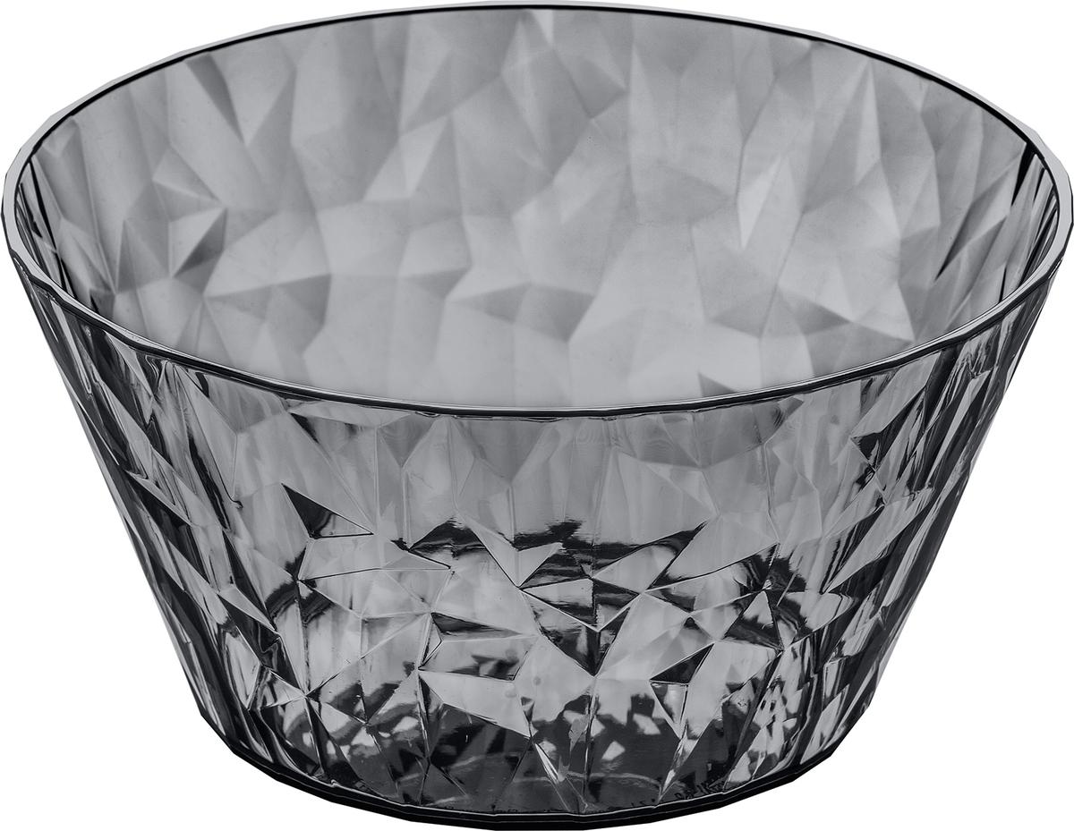 Миска Koziol Superglas Club, цвет: серый, 700 мл салатница cerve кофейня цвет прозрачный черный 690 мл