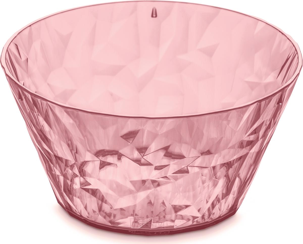 Эта салатница обеспечит блестящую и сочную сервировку любому салату или закуске. Коллекцию полимерной посуды CLUB высоко оценят любители шумных вечеринок, семейных застолий и встреч с друзьями: такая сверхлёгкая и ударопрочная посуда специально создана для удобной эксплуатации, а прозрачный кристальный дизайн - для бесконечного веселья.Особенности:- объем 700 мл- весит мало, приятно держать в руках- ударопрочность- компактное хранение