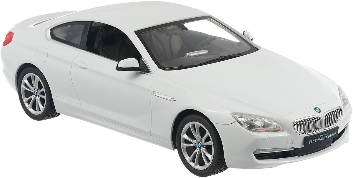 Rastar Радиоуправляемая модель BMW 6 цвет белый масштаб 1:14 rastar радиоуправляемая модель mclaren p1 масштаб 1 14 цвет черный