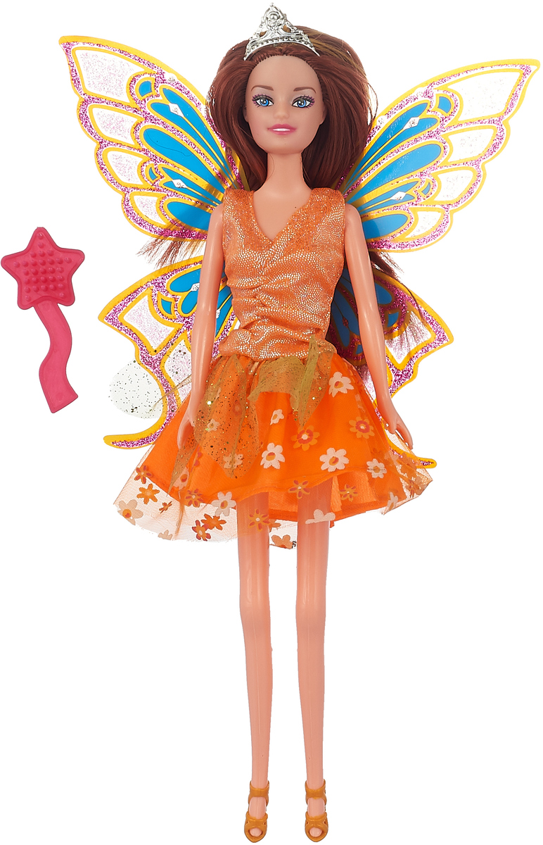 Карапуз Кукла София Фея с аксессуарами цвет оранжевый карапуз кукла озвученная disney принцесса софия с аксессуарами