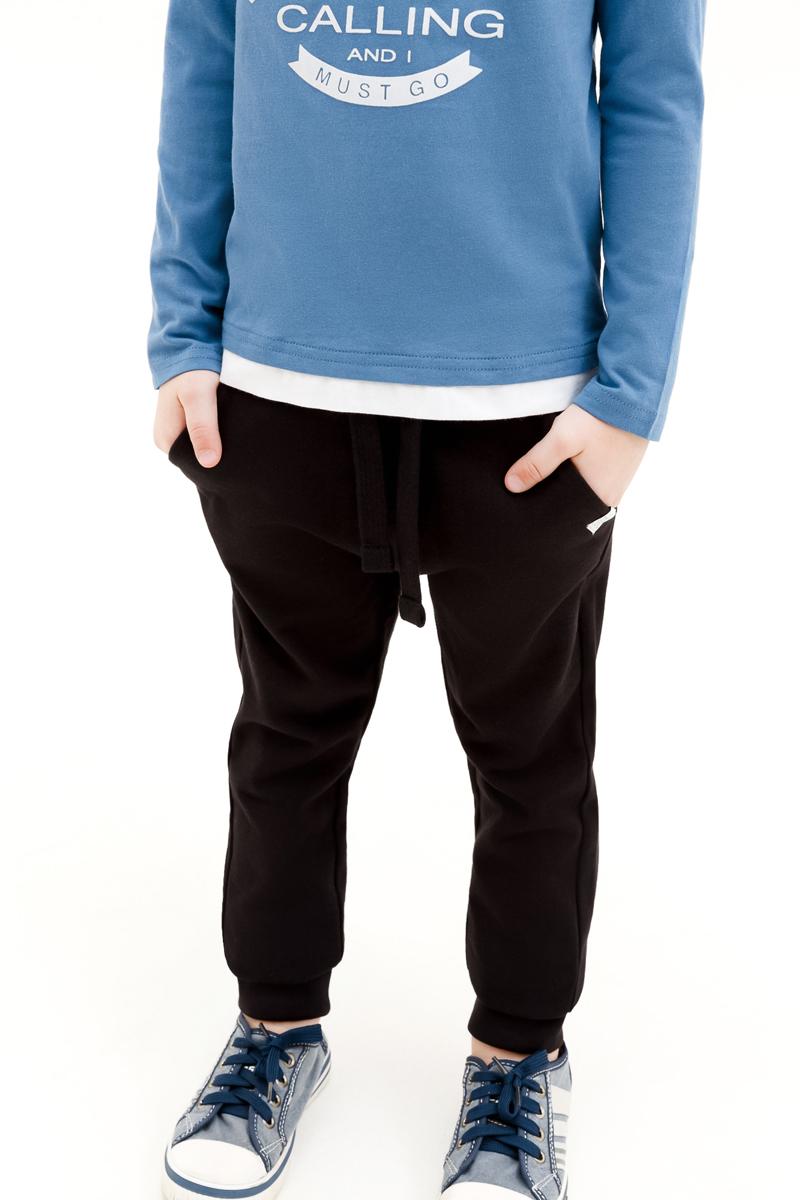 Брюки для мальчика Concept Club Carrot, цвет: черный. 10120160003_100. Размер 128