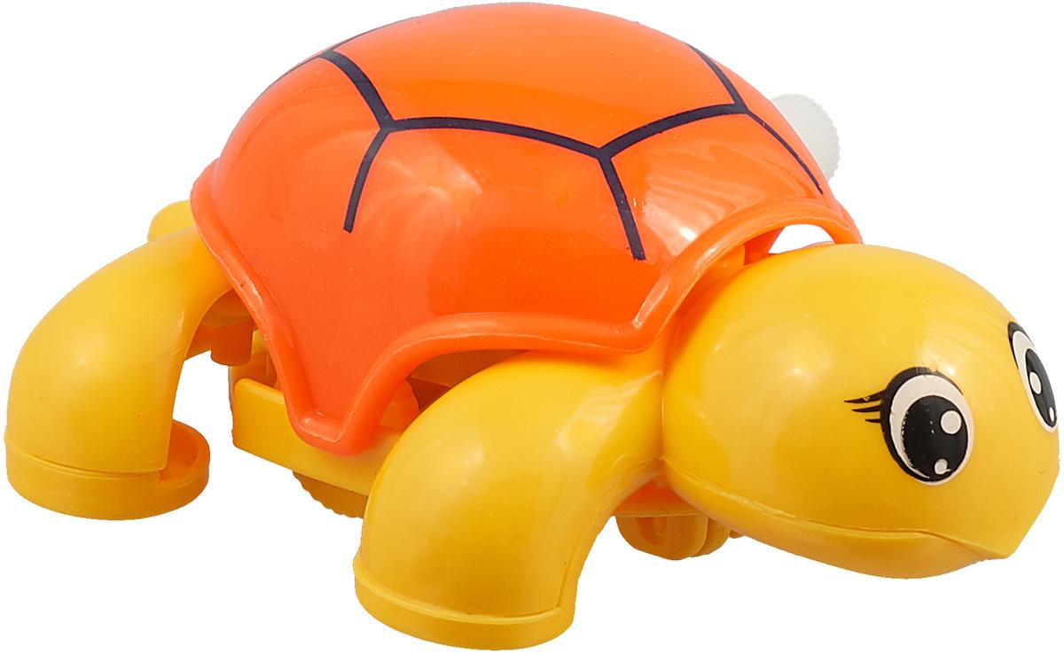 Играем вместе Заводная игрушка цвет желтый оранжевый B1592004-R игрушка для ванны играем вместе утка заводная