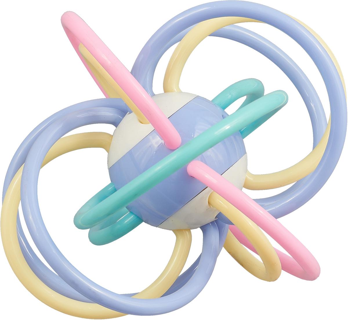 Ути-Пути Развивающая игрушка Шар цвет голубой розовый бежевый цена