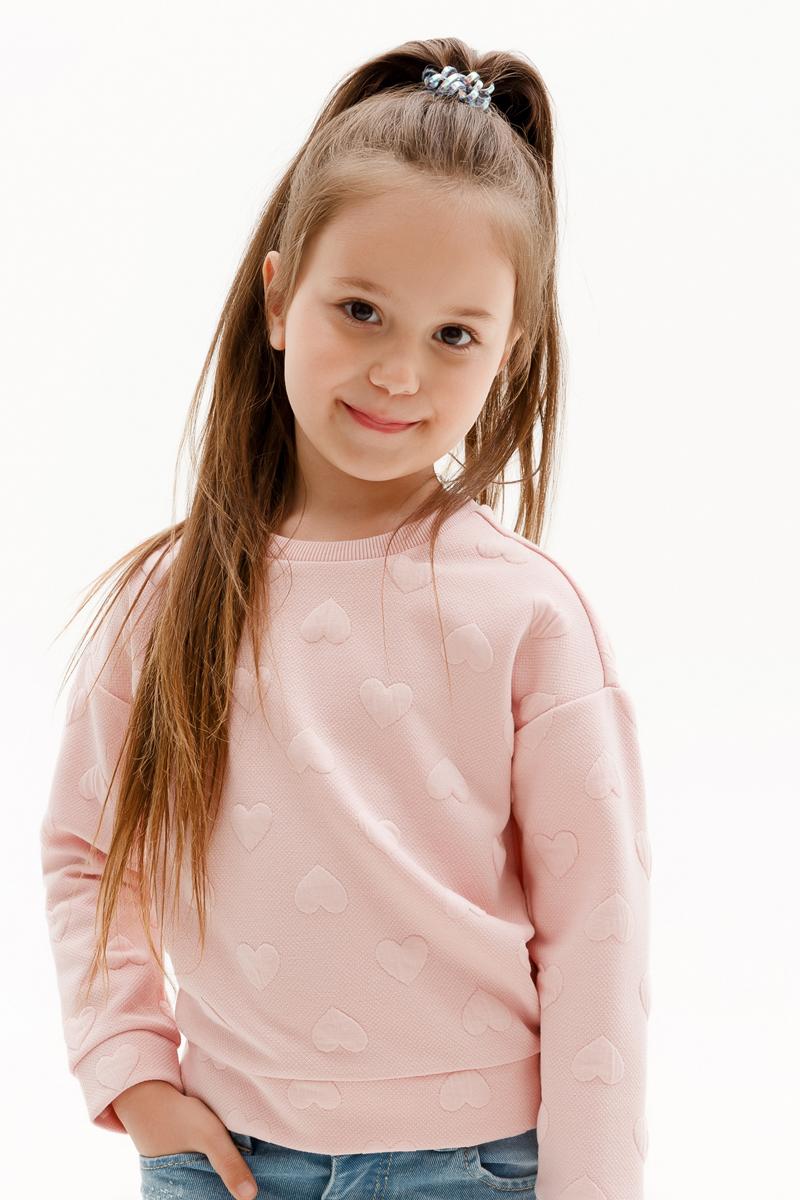 Джемпер для девочки Concept Club Orange, цвет: светло-розовый. 10220100002_3400. Размер 110