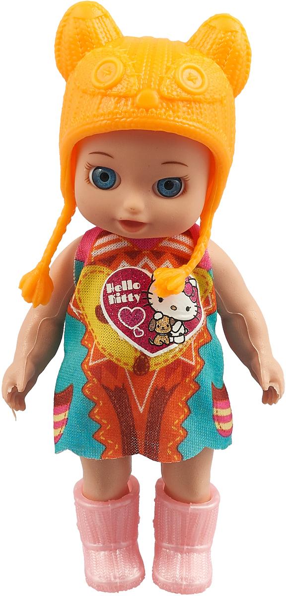 Карапуз Кукла Hello Kitty Оранжевая шапочка YL1701C-RU-HK 120 мешок для обуви оригами hello kitty 41 34 10см 504 0078 hk ch