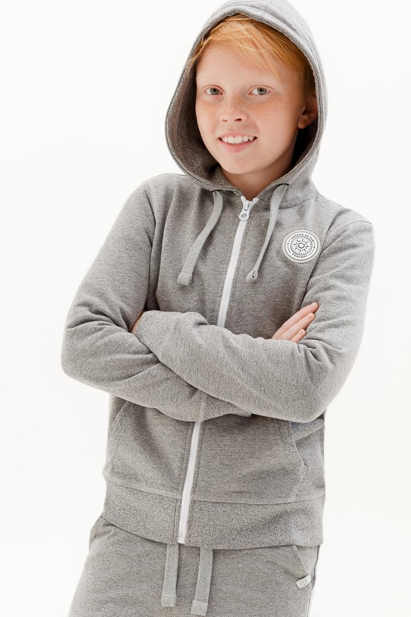 Толстовка для мальчика Concept Club Onion, цвет: серый. 10110130007_1900. Размер 170
